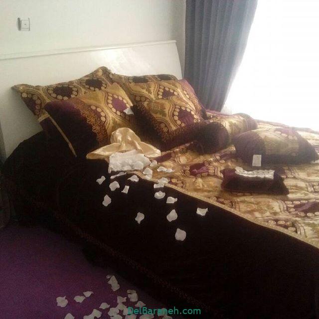 تزیین تخت عروس (۱۸)