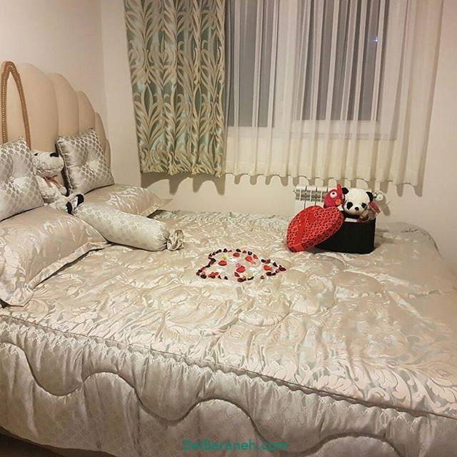 تزیین تخت عروس (۳)
