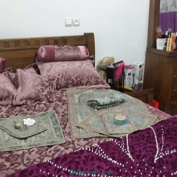 تزیین تخت عروس (۵)