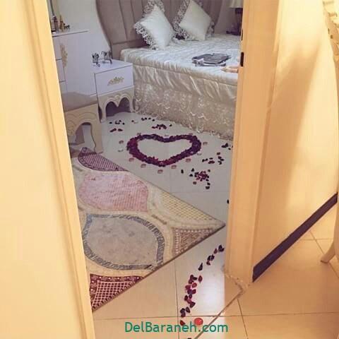 تزیین تخت عروس (۶)