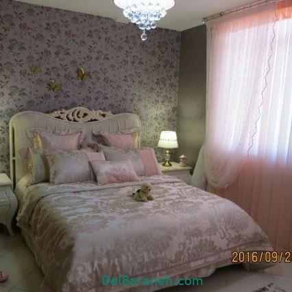 تزیین تخت عروس (۷)