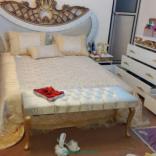 تزیین تخت عروس (۹)