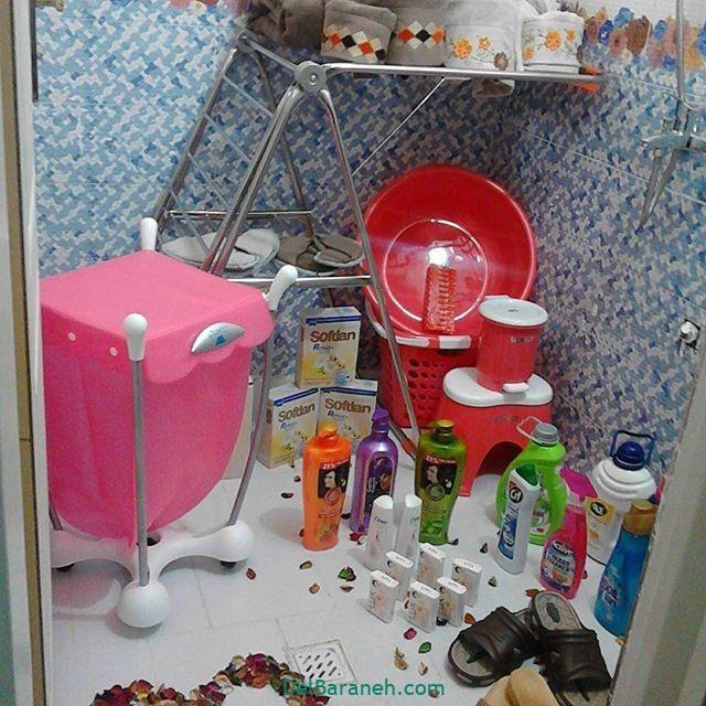 تزیین حمام (۱۲)