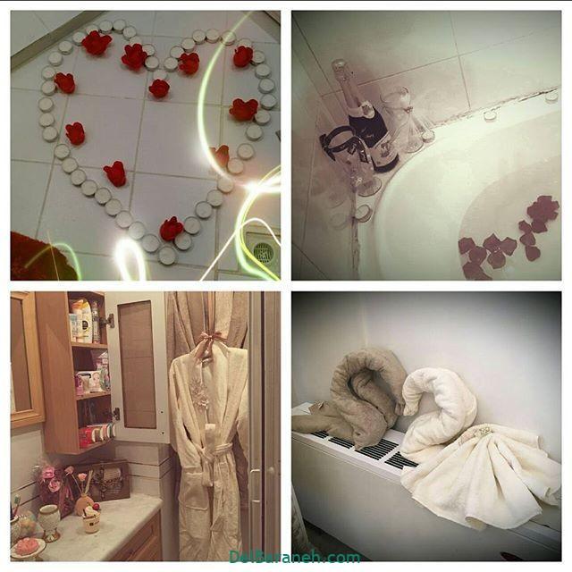 تزیین حمام (۷)
