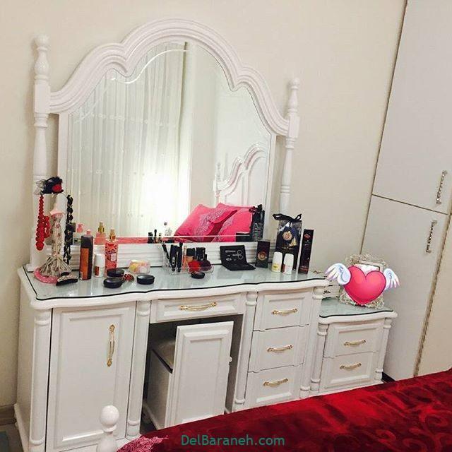 تزیین میز آرایش عروس (۱)