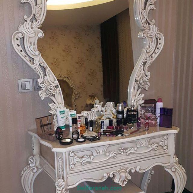 تزیین میز آرایش عروس (۵)