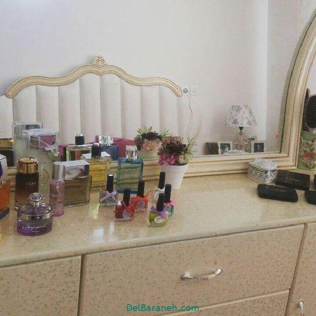 تزیین میز آرایش عروس (۶)