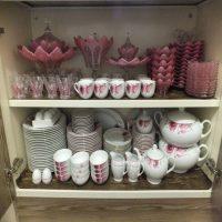 تزیین کابینت عروس | ۳۰ مدل شیک چیدن کابینت آشپزخانه عروس برای جهیزیه