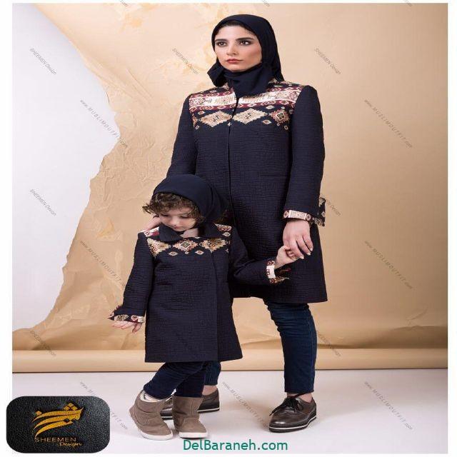 ست مانتو مادر و دختر (۱)
