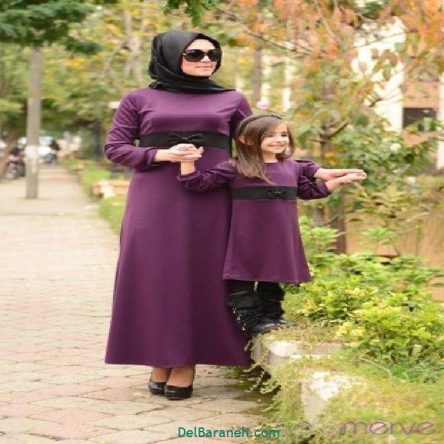 ست مانتو مادر و دختر (۱۱)