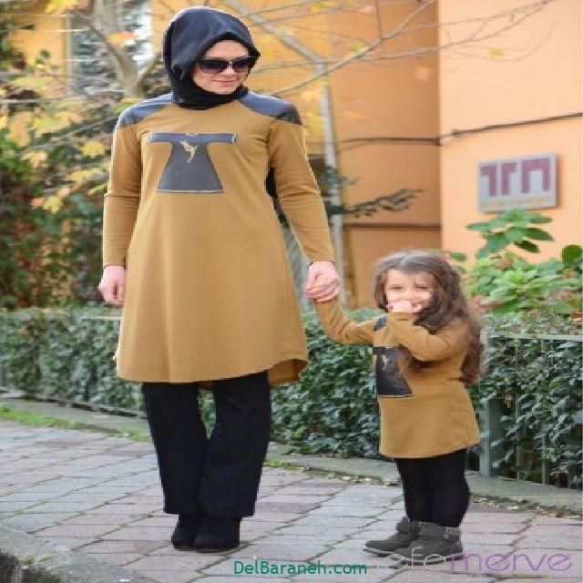 ست مانتو مادر و دختر (۱۳)