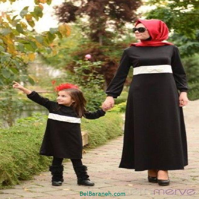 ست مانتو مادر و دختر (۱۴)