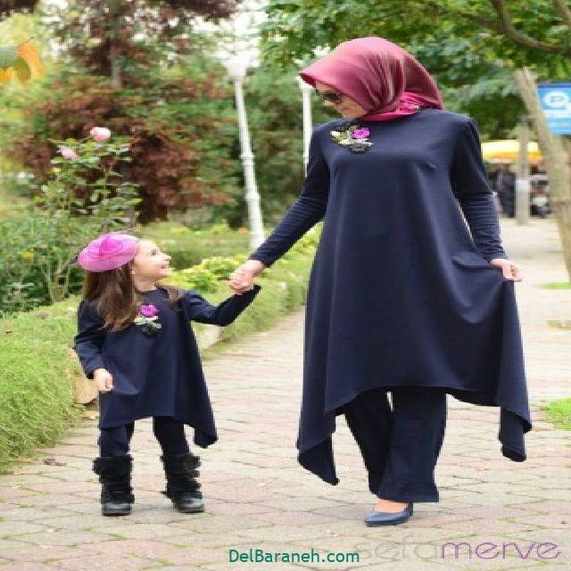 ست مانتو مادر و دختر (۱۵)