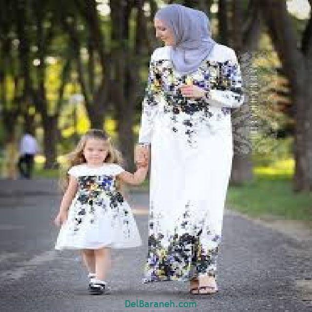 ست مانتو مادر و دختر (۳)