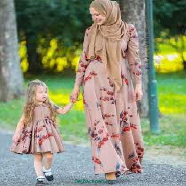 ست مادر دختری لباس مجلسی