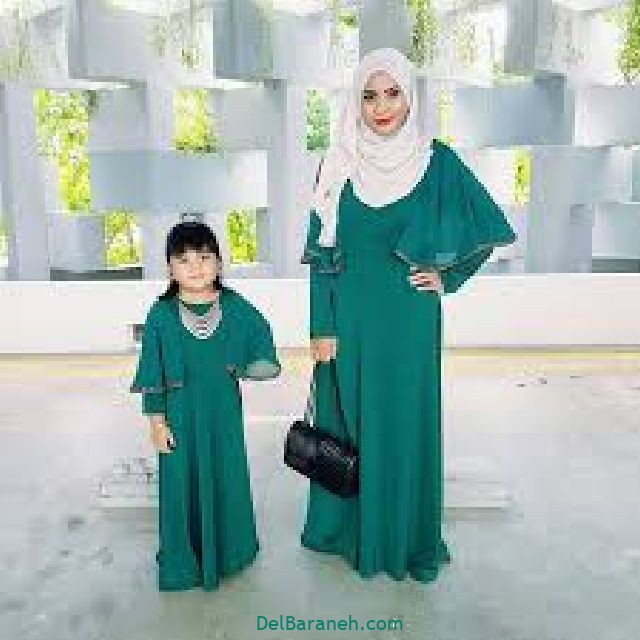 ست مانتو مادر و دختر (۶)
