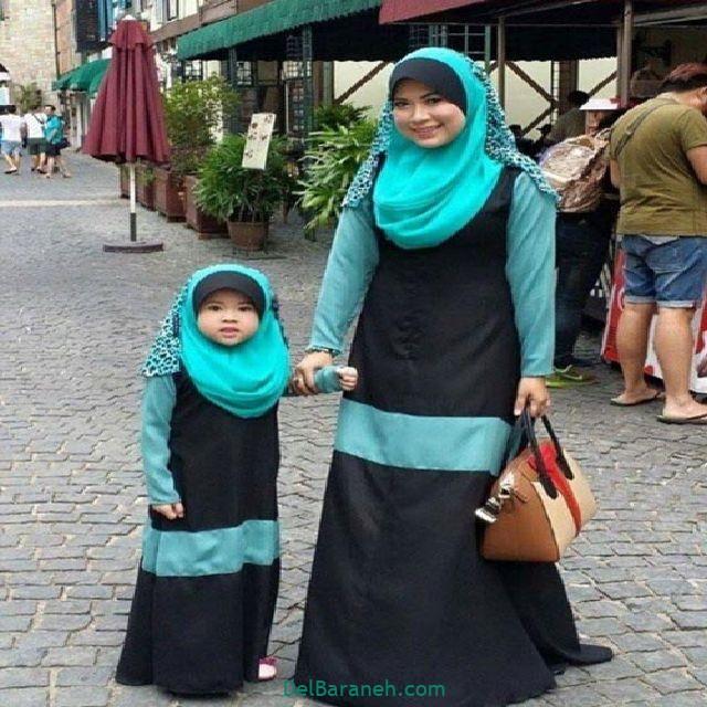 ست مانتو مادر و دختر (۷)