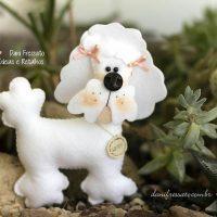 سگ نمدی با الگو | ۴۵ مدل گیفت سگ نمدی (حیوان سال ۱۳۹۷) با الگو