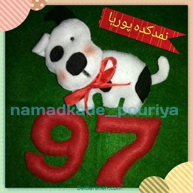 سگ نمدی (۱۷)