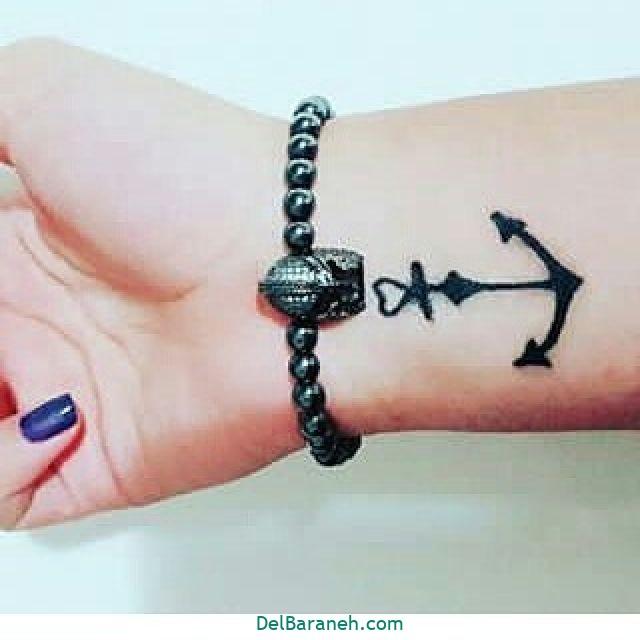 طرح حنا روی مچ دست (۲۱)