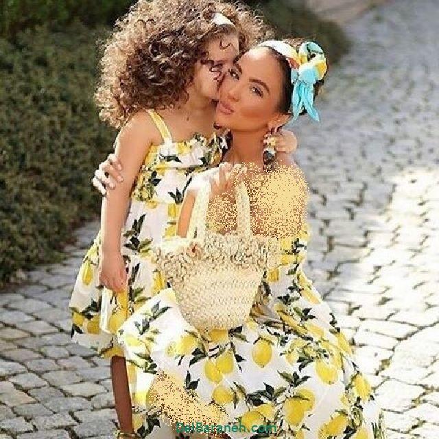 لباس ست مادر و دختر (۱۰)