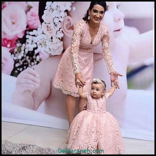 لباس ست مادر و دختر (۱۰۰)