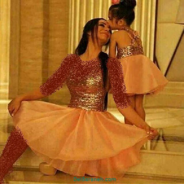 لباس ست مادر و دختر (۱۱)
