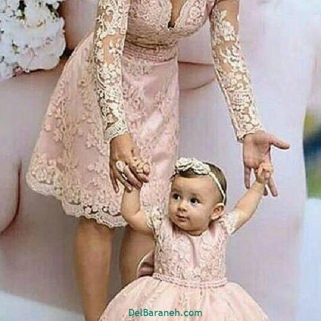 لباس ست مادر و دختر (۱۳)