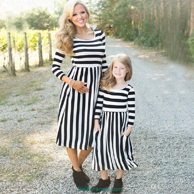 لباس ست مادر و دختر (۱۶)