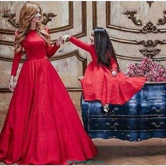 لباس ست مادر و دختر (۱۷)
