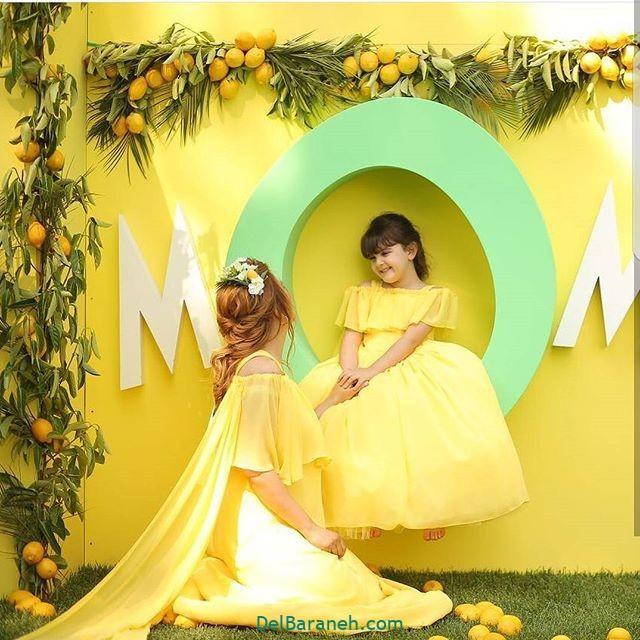 لباس ست مادر و دختر (۱۸)