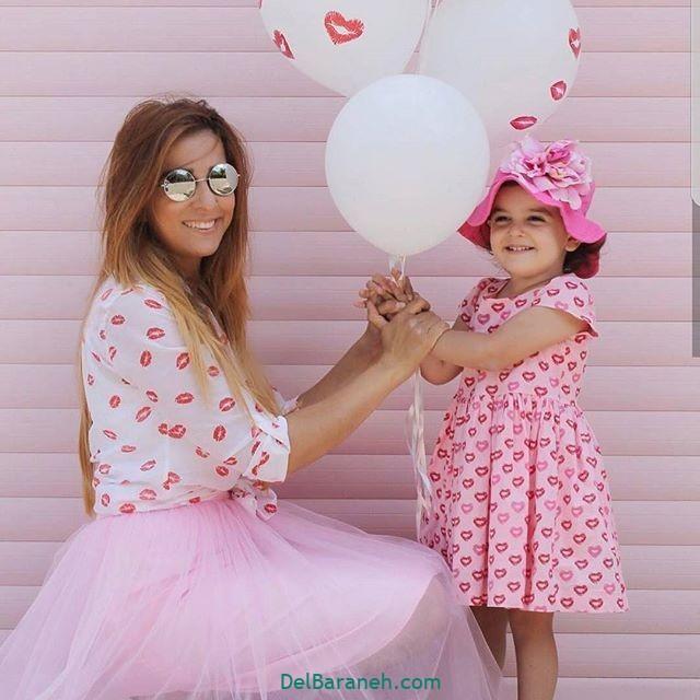 لباس ست مادر و دختر (۲۰)