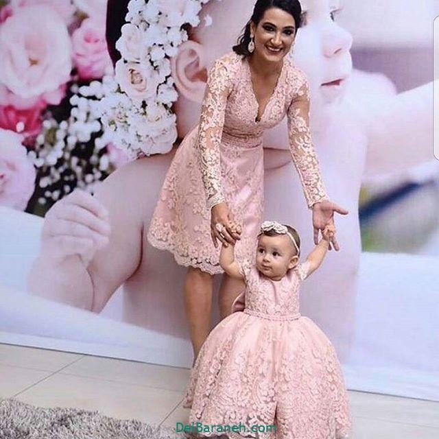 لباس ست مادر و دختر (۲۱)