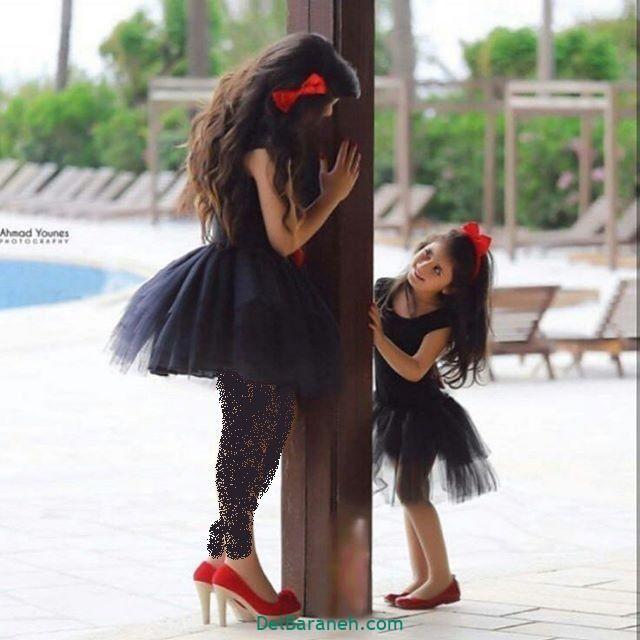 لباس ست مادر و دختر (۲۳)