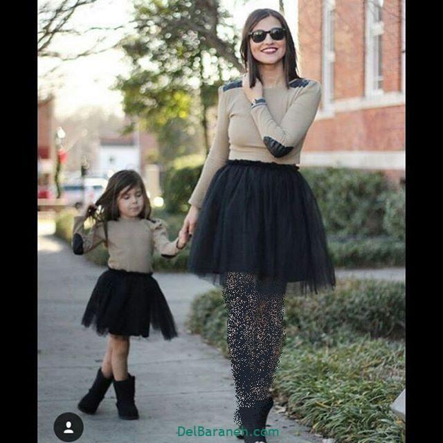 لباس ست مادر و دختر (۲۷)