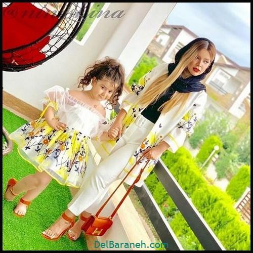 لباس ست مادر و دختر (۶۰)
