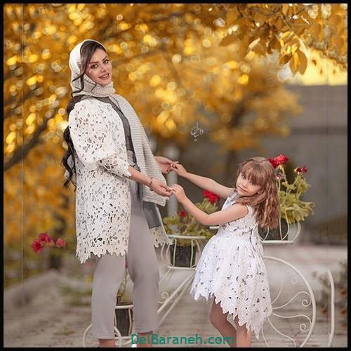 لباس ست مادر و دختر | ۱۰۰ ست مادر دختری (لباس مجلسی-مانتو)
