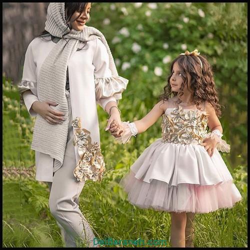 لباس ست مادر و دختر (۶۶)