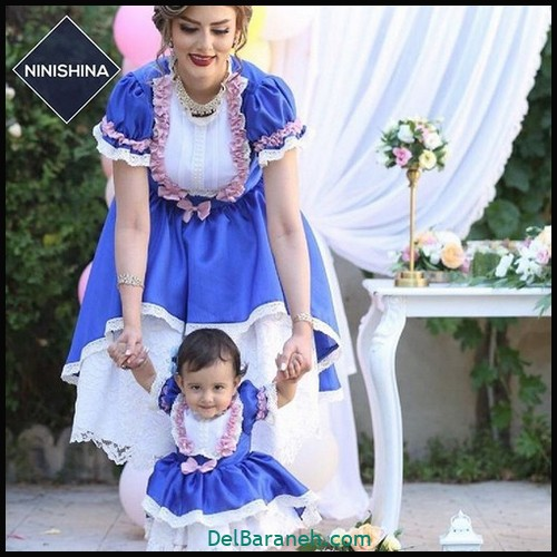 لباس ست مادر و دختر (۶۷)