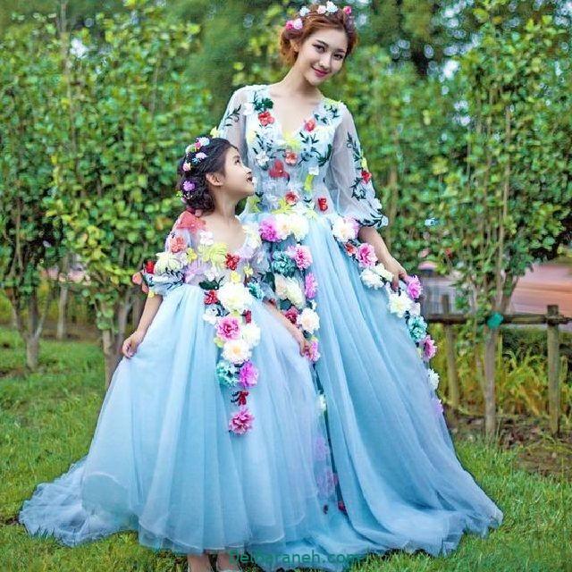 لباس ست مادر و دختر (۷)