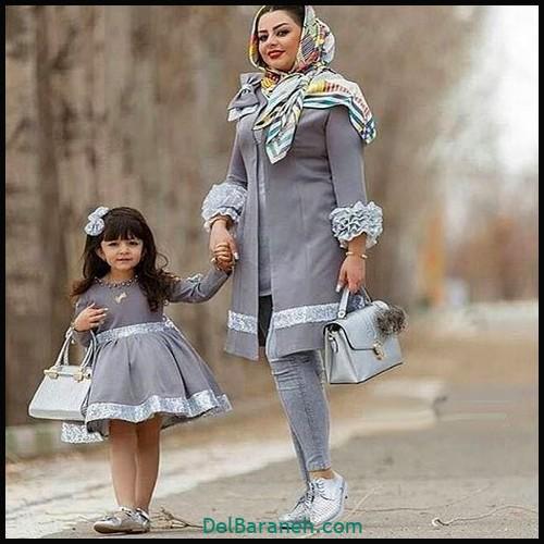 لباس ست مادر و دختر (۷۲)