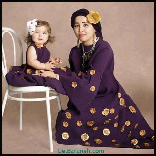 لباس ست مادر و دختر (۷۸)