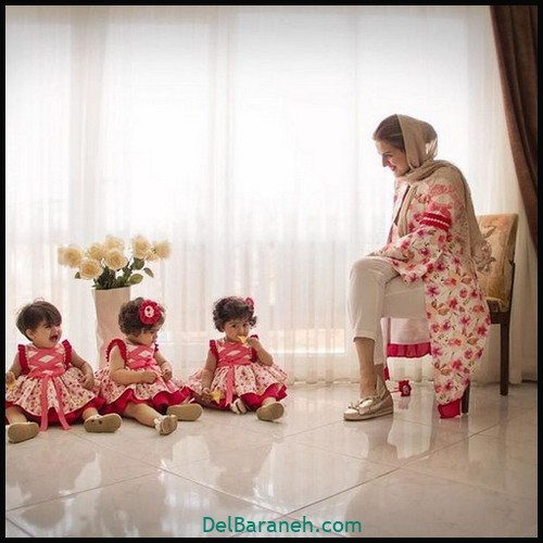 لباس ست مادر و دختر (۷۹)