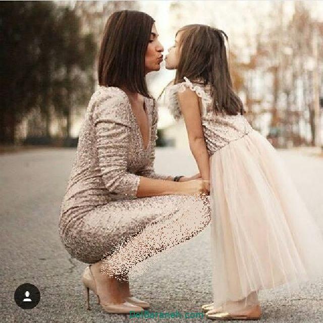 لباس ست مادر و دختر (۸)
