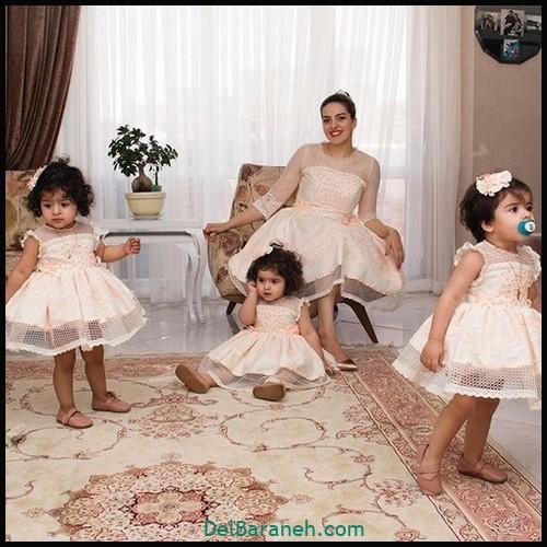 لباس ست مادر و دختر (۸۰)