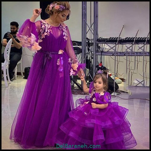 لباس ست مادر و دختر (۹۱)
