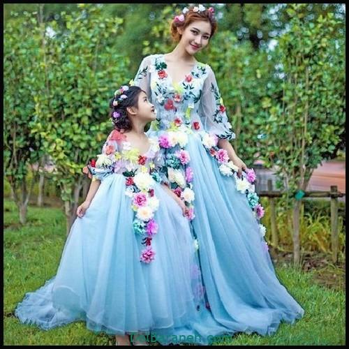 لباس ست مادر و دختر (۹۲)