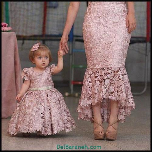لباس ست مادر و دختر (۹۶)