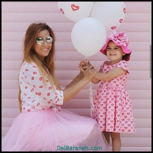 لباس ست مادر و دختر (۹۹)