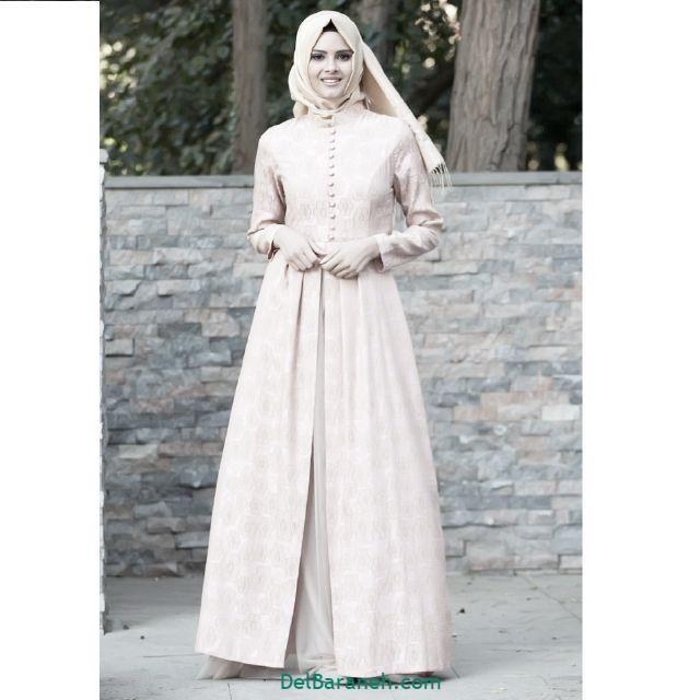 مانتو سفید عروس (۱)